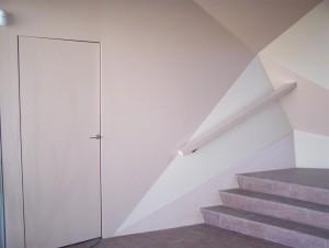 puerta enrasada